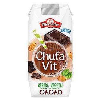 Mercader Batido vegetal de chufa sabor chocolate 330 ml