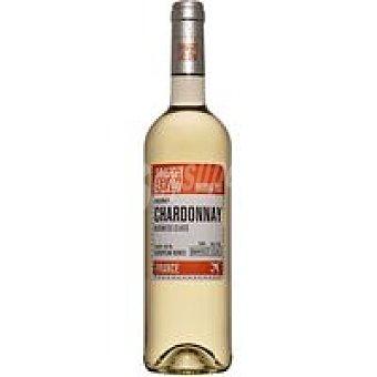 WINE&FLY Vino Blanco Chardonay Frances Botella 75 cl
