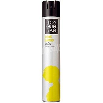 Llongueras Laca look largo fijación extra fuerte Spray 400 ml