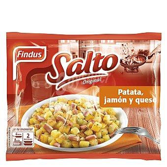 Findus Patata con jamón y queso Salto Original bolsa 400 g