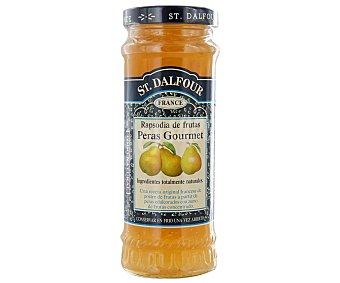St. Dalfour Mermelada de peras gourmet 284 gramos