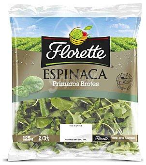 Florette Espinacas florette Primeros Brotes Bolsa 125 Gramos