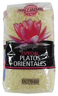 Hacendado Arroz thai jazmin (aromatico - platos orientales) Paquete 1 kg