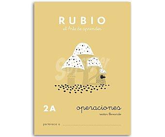 Rubio Cuadernillo de actividades Matemáticas, Operaciones 2 A, restar llevando, 6-7 años rubio