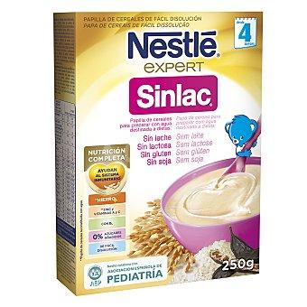 Nestlé Papilla de cereales Sinlac Caja 250 g