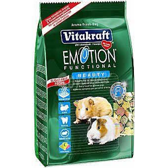 Emotion Vitakraft Alimento premium para cobayas Paquete 600 g