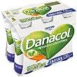 Yogur líquido natural, sin azúcares y que ayuda a controlar el colesterol 6 x 100 g Danacol Danone