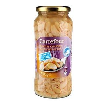 Carrefour Alubias bajas en sal 400 g