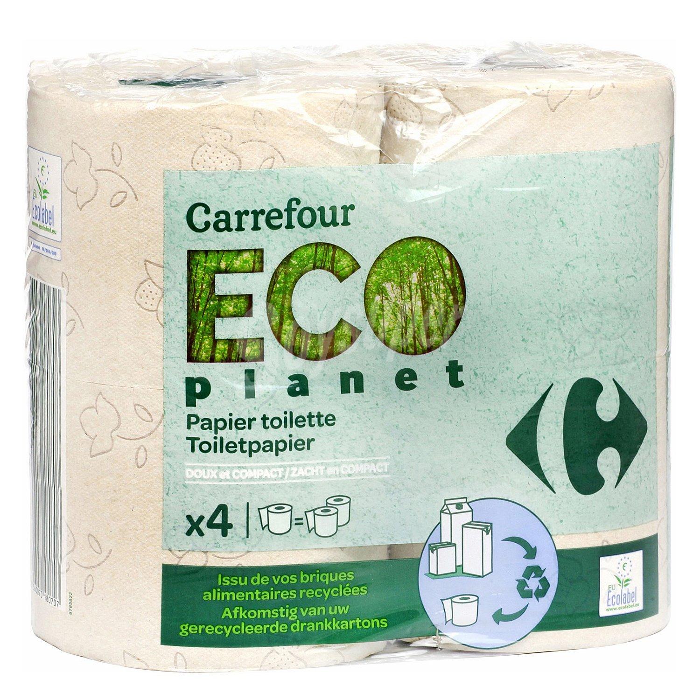 Carrefour eco planet papel higi nico eco 4 rollos - Eco prime carrefour ...