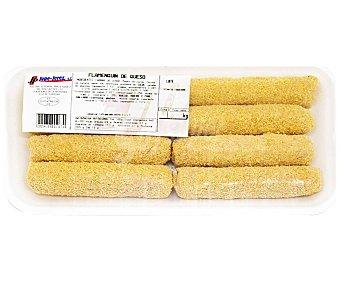 JUPE-JEREZ Bandeja rollitos de jamón y queso 500 gramos aproximados