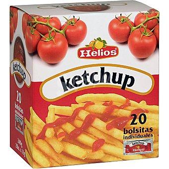 Helios Ketchup 20 bolsitas individuales de caja 240 g 12 g