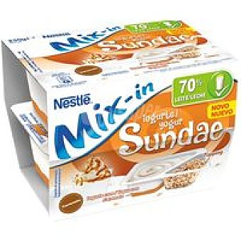 Nestlé Yogur Mix-In Sundae Pack 2x115 g