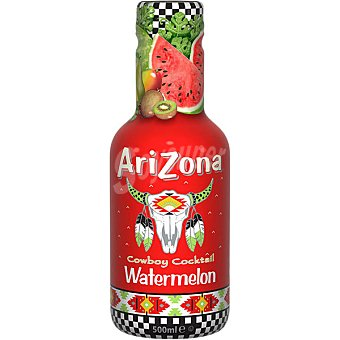 Arizona Refresco de sandia Cowboy Cocktail Watermelon Botella 50 cl