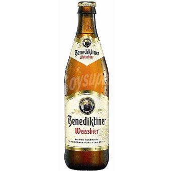 BENEDIKTINER Weissbier cerveza de trigo botella 50 cl Botella 50 cl