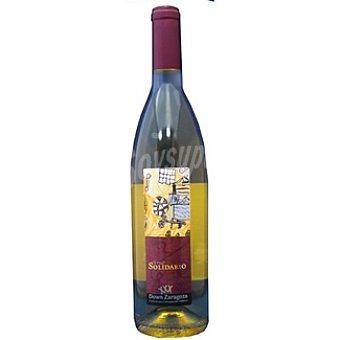 CORONA DE ARAGON Vino blanco solidario síndrome Down Botella 75 cl