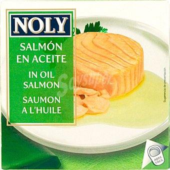NOLY salmón en aceite vegetal lata 73 g neto escurrido