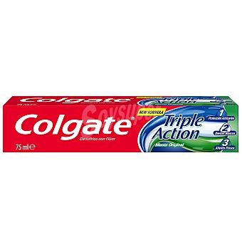Colgate Pasta dentrífica triple acción con flúor Tubo 75 ml