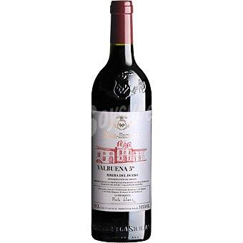 VALBUENA 5 Vino tinto reserva cosecha 2009 D.O. Ribera del Duero botella 75 cl Botella 75cl