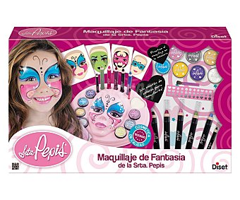 DISET Centro de maquillaje de fantasía Sta. Pepis Centro de Maquillaje de Fantasía de la Señorita Pepis, incluye purpurinas, plantillas...DISET.