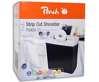 Peach Destructora de documentos, Cds y tarjetas de crédito PS-400