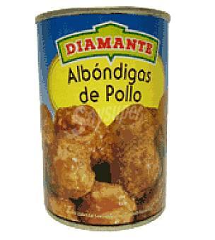 Diamante Albóndiga de pollo 400 g
