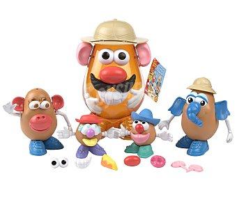 PLAYSKOOL 2 Muñecos Mister Potato Mini y 2 Medianos con Accesorios 1 Unidad