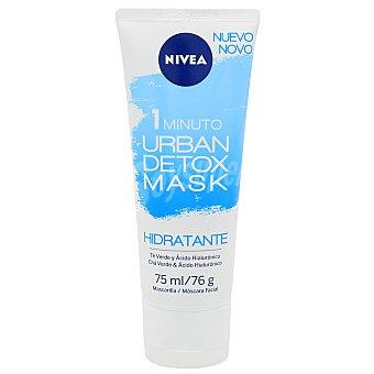 Nivea Mascarilla facial hidratante urban detox Tubo 75 ml