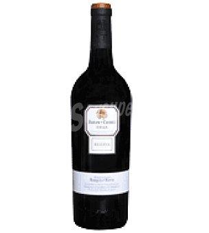 Barón de Chirel Vino do rioja reserva Botella de 75 cl