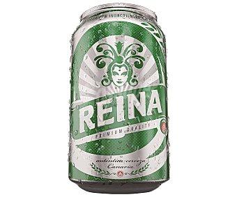 Reina oro Cerveza Lata 33 cl