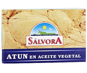 SALVORA Atún en aceite vegetal 143 gramos