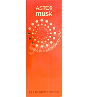 Astor Colonia femenina musk spray 100 ml