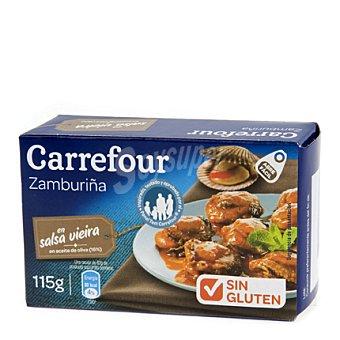 Carrefour Zamburiñas en salsa vieira con aceite de oliva 115 g