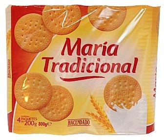 HACENDADO GALLETA MARIA TRADICIONAL (69 % CEREAL) PAQUETE 800 g