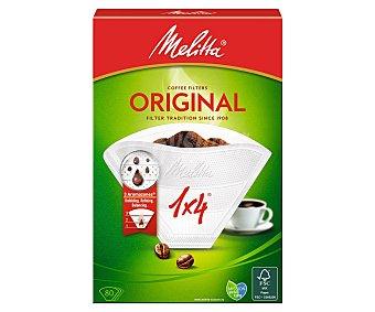 Melitta Filtro cafetera 1X4 80 Unidades