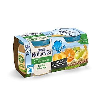 Naturnes Nestlé Tarrito de frutas del campo especial para bebés a partir de 4 meses 2 unidades de 200 gramos