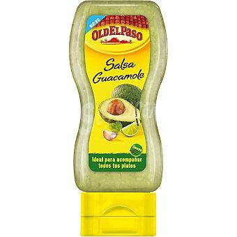 Old el Paso Salsa guacamole suave bocabajo Envase 295 g