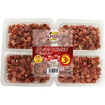 ElPozo Taquitos de jamón curado Bandeja 220 g