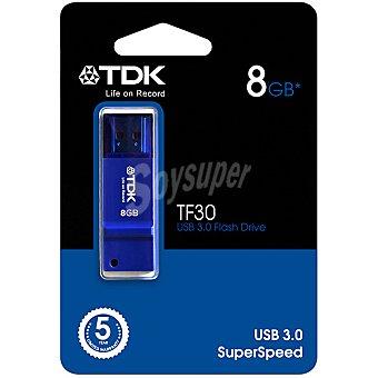 TDK TF-30 Pen Drive 8 GB color azul