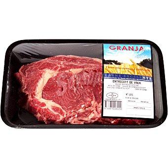 GRANJA LOS TILOS Vaca entrecot peso aproximado bandeja 250 g 1 unidad