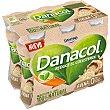 Leche fermentada desnatada con avena, edulcorantes y esteroles vegetales añadidos Pack 6 u x 100 g Danacol Danone