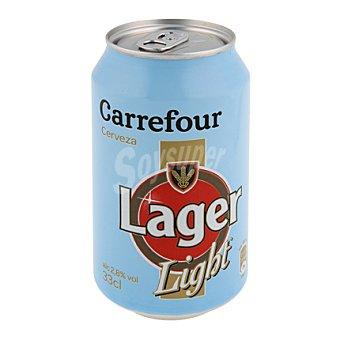 Carrefour Cerveza light 33 cl