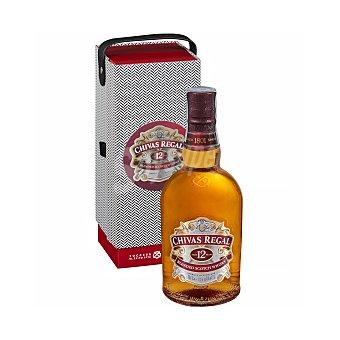 Chivas Regal Whisky blended escocés reserva 12 años Botella de 70 cl