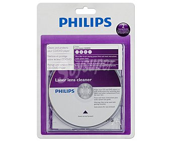 PHILIPS SVC2330/10 Limpiador de lentes para cd/dvd )