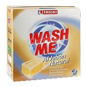 Eroski Detergente en polvo jabón natural Maleta 30 cacitos