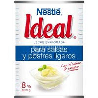 Ideal Nestlé Leche Líquida Concentrada Evaporada Lata 410 g