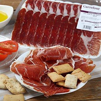 Calidad y Origen Carrefour Loncha jamón cebo 50% raza ibérica Bandeja de 100 g