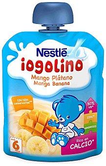 Iogolino Nestlé Puré de mango y plátano con leche Envase 90 g