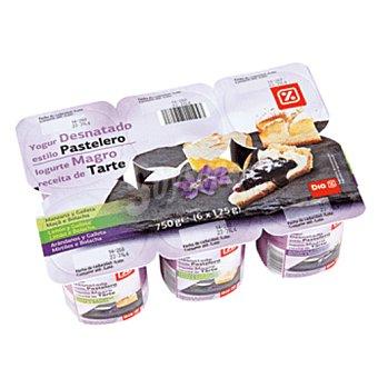 DIA Yogur receta pastelera desnatado Pack 6 unidades 125 g