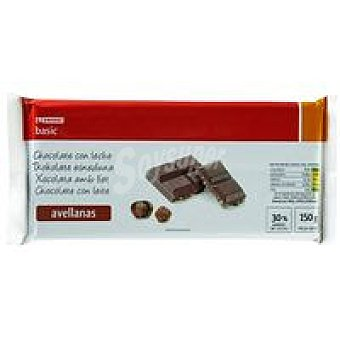 Eroski Chocolate leche avellana 150g