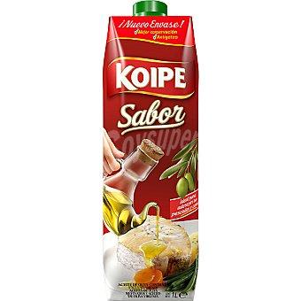 KOIPE Sabor Aceite de oliva intenso 1º Brik 1 l